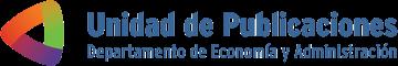Logo de Unidad de Publicaciones - Departamento de Economía y Administración